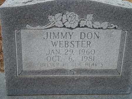WEBSTER, JIMMY DON - Yell County, Arkansas | JIMMY DON WEBSTER - Arkansas Gravestone Photos