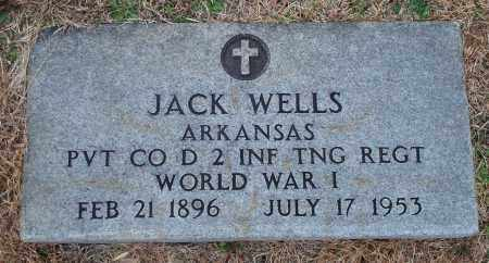 WELLS (VETERAN WWI), JACK - Yell County, Arkansas | JACK WELLS (VETERAN WWI) - Arkansas Gravestone Photos