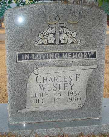 WESLEY, CHARLES E. - Yell County, Arkansas | CHARLES E. WESLEY - Arkansas Gravestone Photos
