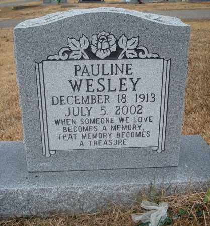 WESLEY, PAULINE - Yell County, Arkansas | PAULINE WESLEY - Arkansas Gravestone Photos