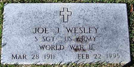 WESLEY (VETERAN WWII), JOE J - Yell County, Arkansas | JOE J WESLEY (VETERAN WWII) - Arkansas Gravestone Photos