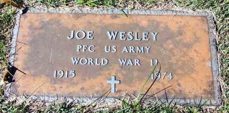 WESLEY (VETERAN WWII), JOE - Yell County, Arkansas | JOE WESLEY (VETERAN WWII) - Arkansas Gravestone Photos