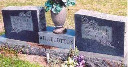 WHITECOTTON, WILLIAM GOLDIE - Yell County, Arkansas | WILLIAM GOLDIE WHITECOTTON - Arkansas Gravestone Photos