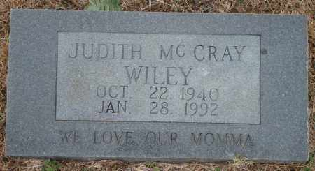 MCCRAY WILEY, JUDITH - Yell County, Arkansas | JUDITH MCCRAY WILEY - Arkansas Gravestone Photos