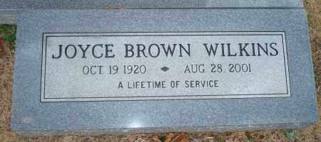BROWN WILKINS, JOYCE - Yell County, Arkansas | JOYCE BROWN WILKINS - Arkansas Gravestone Photos