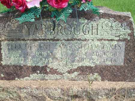 YARBROUGH, WILLIAM JAMES - Yell County, Arkansas | WILLIAM JAMES YARBROUGH - Arkansas Gravestone Photos