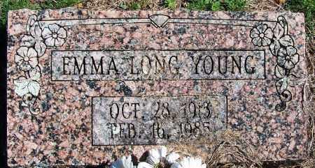 LONG YOUNG, EMMA - Yell County, Arkansas | EMMA LONG YOUNG - Arkansas Gravestone Photos