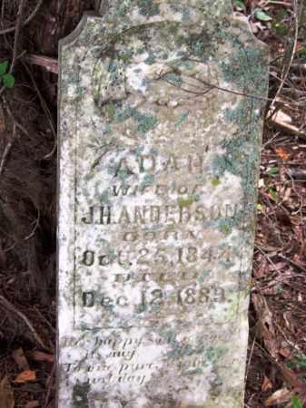 ANDERSON, ADAH - Arkansas County, Arkansas | ADAH ANDERSON - Arkansas Gravestone Photos