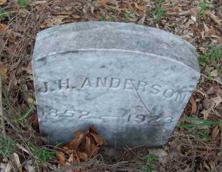 ANDERSON, J H - Arkansas County, Arkansas | J H ANDERSON - Arkansas Gravestone Photos
