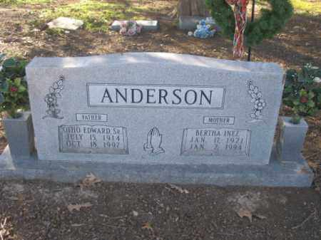 ANDERSON, SR, ORTHO EDWARD - Arkansas County, Arkansas | ORTHO EDWARD ANDERSON, SR - Arkansas Gravestone Photos