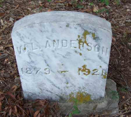 ANDERSON, W L - Arkansas County, Arkansas | W L ANDERSON - Arkansas Gravestone Photos