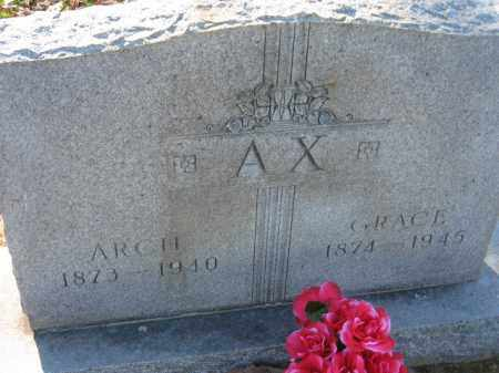 AX, GRACE ERMON - Arkansas County, Arkansas | GRACE ERMON AX - Arkansas Gravestone Photos