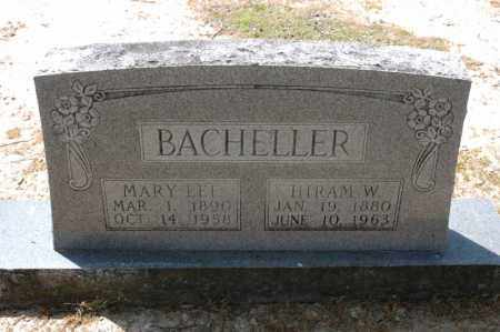 BACHELLER, MARY LEE - Arkansas County, Arkansas | MARY LEE BACHELLER - Arkansas Gravestone Photos