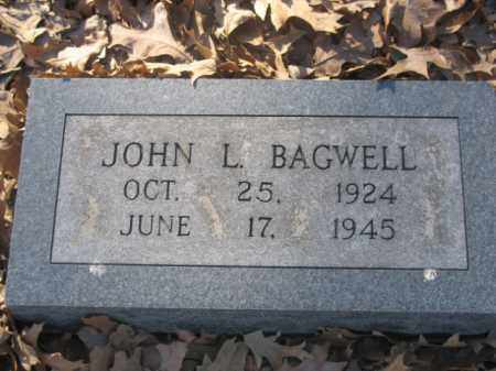 BAGWELL, JOHN L - Arkansas County, Arkansas | JOHN L BAGWELL - Arkansas Gravestone Photos