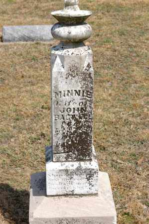 BAGWELL, MINNIE - Arkansas County, Arkansas | MINNIE BAGWELL - Arkansas Gravestone Photos