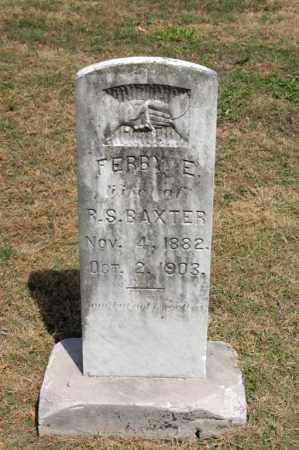 BAXTER, FERBY - Arkansas County, Arkansas | FERBY BAXTER - Arkansas Gravestone Photos