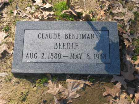 BEEDLE, CLAUDE BENJIMEN - Arkansas County, Arkansas | CLAUDE BENJIMEN BEEDLE - Arkansas Gravestone Photos