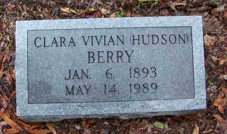 HUDSON BERRY, CLARA VIVIAN - Arkansas County, Arkansas | CLARA VIVIAN HUDSON BERRY - Arkansas Gravestone Photos