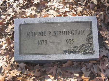 BIRMINGHAM, MONROE R - Arkansas County, Arkansas | MONROE R BIRMINGHAM - Arkansas Gravestone Photos