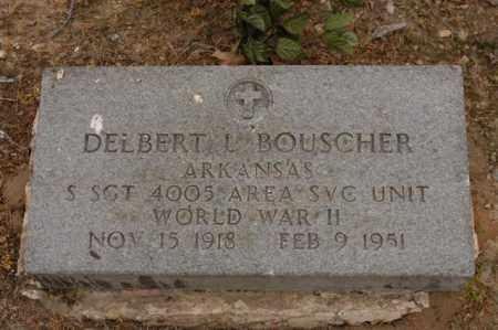 BOUSCHER  (VETERAN WWII), DELBERT - Arkansas County, Arkansas | DELBERT BOUSCHER  (VETERAN WWII) - Arkansas Gravestone Photos