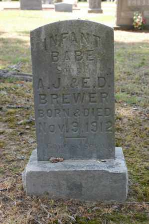 BREWER, INFANT SON - Arkansas County, Arkansas | INFANT SON BREWER - Arkansas Gravestone Photos