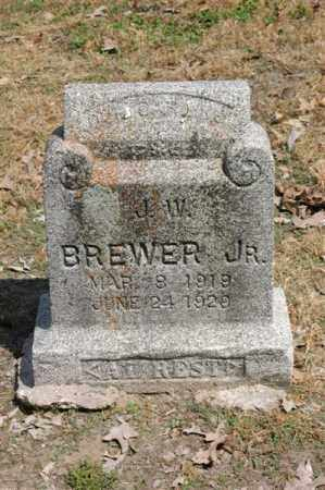 BREWER, JR, J W - Arkansas County, Arkansas | J W BREWER, JR - Arkansas Gravestone Photos