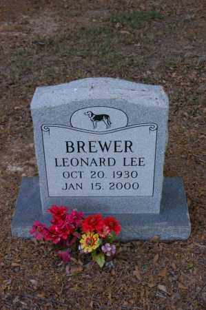 BREWER, LEONARD LEE - Arkansas County, Arkansas | LEONARD LEE BREWER - Arkansas Gravestone Photos
