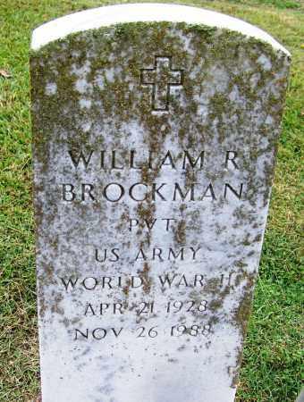 BROCKMAN (VETERAN WWII), WILLIAM R - Arkansas County, Arkansas | WILLIAM R BROCKMAN (VETERAN WWII) - Arkansas Gravestone Photos