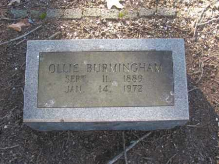 BURMINGHAM, OLLIE - Arkansas County, Arkansas | OLLIE BURMINGHAM - Arkansas Gravestone Photos