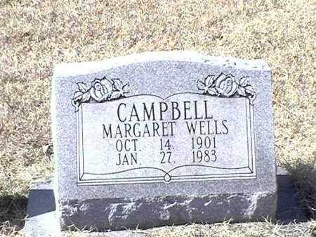 WELLS CAMPBELL, MARGARET - Arkansas County, Arkansas | MARGARET WELLS CAMPBELL - Arkansas Gravestone Photos