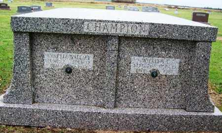 WALLACE CHAMPION, ANNETTA - Arkansas County, Arkansas | ANNETTA WALLACE CHAMPION - Arkansas Gravestone Photos