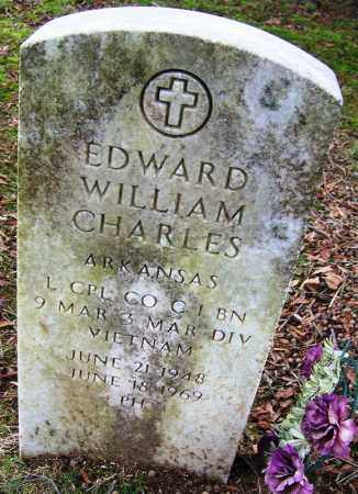 CHARLES (VETERAN VIET, KIA), EDWARD WILLIAM - Arkansas County, Arkansas | EDWARD WILLIAM CHARLES (VETERAN VIET, KIA) - Arkansas Gravestone Photos