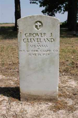 CLEVELAND (VETERAN), GROVER - Arkansas County, Arkansas | GROVER CLEVELAND (VETERAN) - Arkansas Gravestone Photos