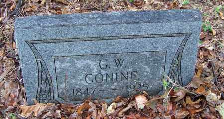 CONINE (VETERAN CSA), GEORGE W - Arkansas County, Arkansas | GEORGE W CONINE (VETERAN CSA) - Arkansas Gravestone Photos