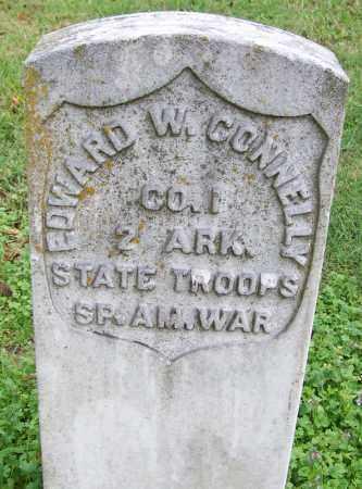 CONNELLY (VETERAN SAW), EDWARD W - Arkansas County, Arkansas | EDWARD W CONNELLY (VETERAN SAW) - Arkansas Gravestone Photos