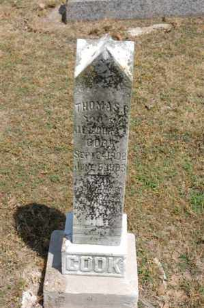COOK, THOMAS - Arkansas County, Arkansas | THOMAS COOK - Arkansas Gravestone Photos