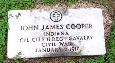 COOPER (VETERAN UNION), JOHN JAMES - Arkansas County, Arkansas | JOHN JAMES COOPER (VETERAN UNION) - Arkansas Gravestone Photos