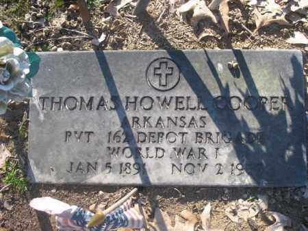 COOPER (VETERAN WWI), THOMAS - Arkansas County, Arkansas | THOMAS COOPER (VETERAN WWI) - Arkansas Gravestone Photos