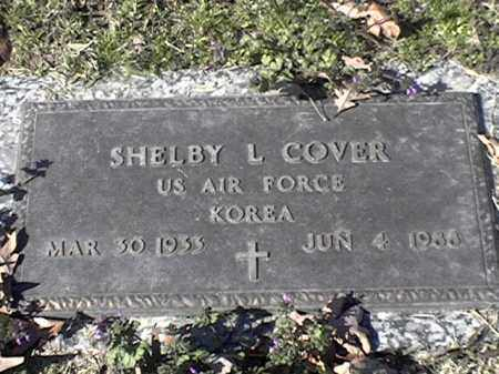 COVER  (VETERAN KOR), SHELBY L - Arkansas County, Arkansas | SHELBY L COVER  (VETERAN KOR) - Arkansas Gravestone Photos