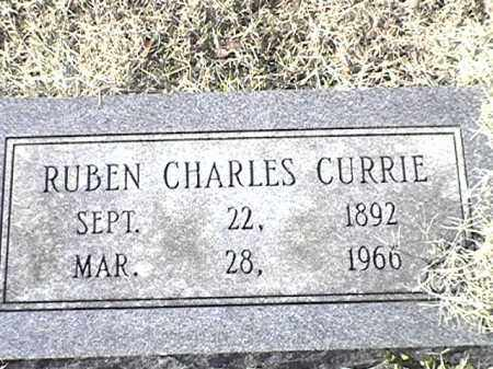CURRIE, RUBEN CHARLES - Arkansas County, Arkansas | RUBEN CHARLES CURRIE - Arkansas Gravestone Photos
