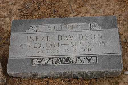 SMITH DAVIDSON, INEZE - Arkansas County, Arkansas | INEZE SMITH DAVIDSON - Arkansas Gravestone Photos