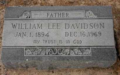 DAVIDSON, WILLIAM LEE - Arkansas County, Arkansas | WILLIAM LEE DAVIDSON - Arkansas Gravestone Photos
