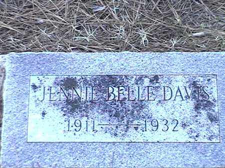 DAVIS, JENNIE BELLE - Arkansas County, Arkansas | JENNIE BELLE DAVIS - Arkansas Gravestone Photos