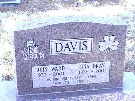 DAVIS, JOHN WARD - Arkansas County, Arkansas | JOHN WARD DAVIS - Arkansas Gravestone Photos