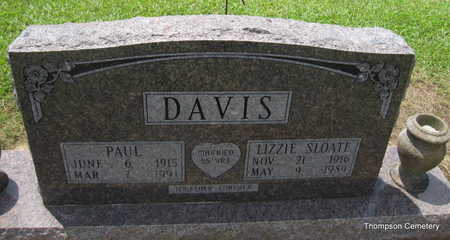 DAVIS, LIZZIE MAE - Arkansas County, Arkansas | LIZZIE MAE DAVIS - Arkansas Gravestone Photos