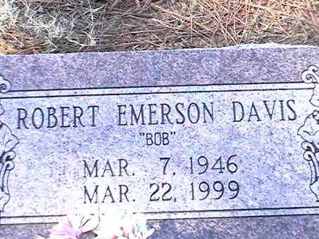 DAVIS, ROBERT EMERSON - Arkansas County, Arkansas | ROBERT EMERSON DAVIS - Arkansas Gravestone Photos