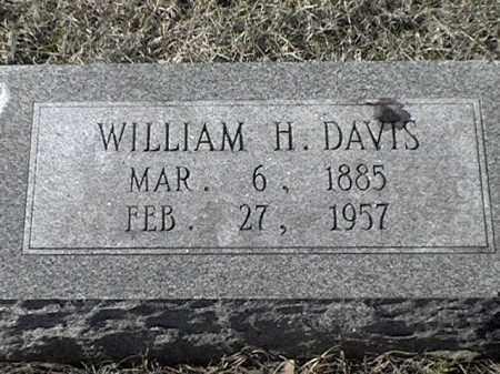 DAVIS, WILLIAM H - Arkansas County, Arkansas | WILLIAM H DAVIS - Arkansas Gravestone Photos