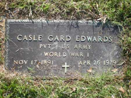 EDWARDS  (VETERAN WWI), CASLE GARD - Arkansas County, Arkansas | CASLE GARD EDWARDS  (VETERAN WWI) - Arkansas Gravestone Photos