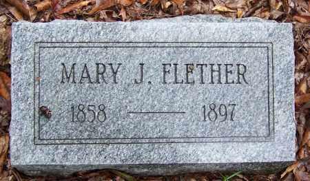 FLETCHER, MARY J - Arkansas County, Arkansas | MARY J FLETCHER - Arkansas Gravestone Photos