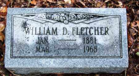 FLETCHER, WILLIAM D - Arkansas County, Arkansas | WILLIAM D FLETCHER - Arkansas Gravestone Photos